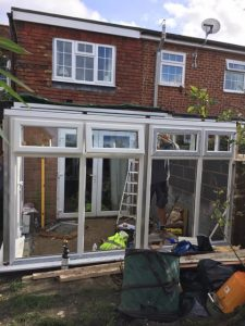 Evolving Glass solutions conservatory installations in sailsbury