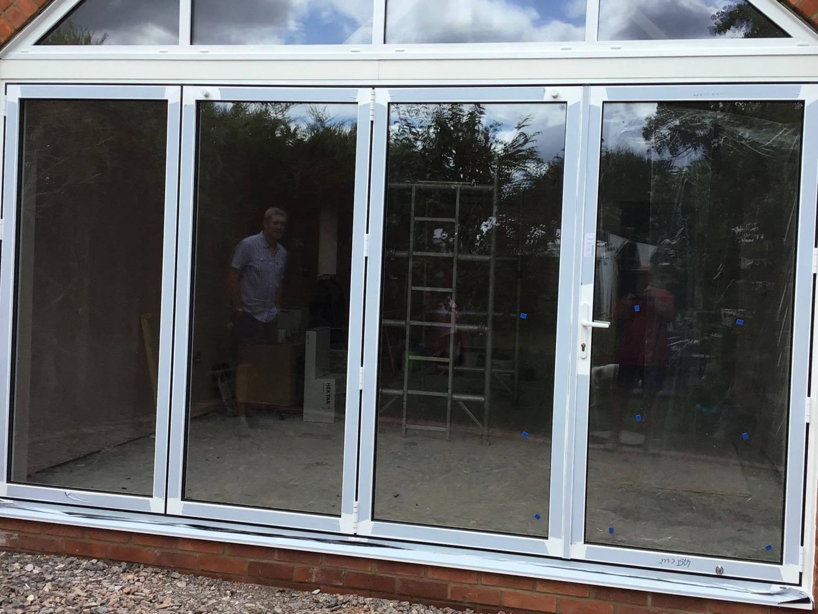 Door Installations in Salisbury bi folding doors in wiltshire